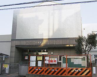 小松原コミセン(写真)は投票所として使用できず、代替施設は保育園の見込み