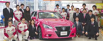 相武台店では21人のスタッフが、くるま生活を支えている