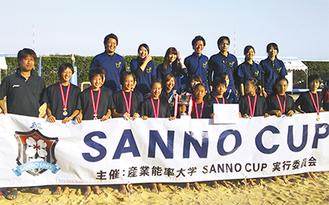 砂場での練習の経験を活かして、勝ち進んだメンバーたち※写真提供/S.Lタイガース