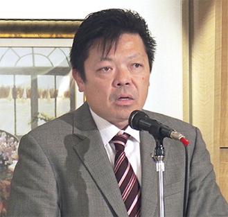 初代会長の溝渕さん