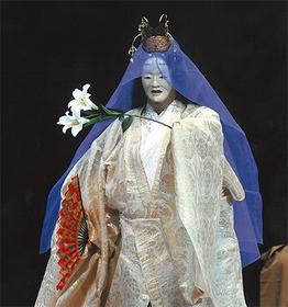 舞台の様子  ※写真集・長崎の聖母より
