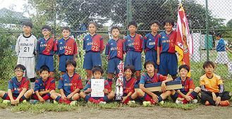 1位パートで優勝した海老名FC