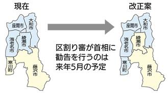 県が区割り改正案提出