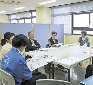 会議などができるミーティングルーム