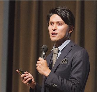 セミナーの講師を務める中村康介氏