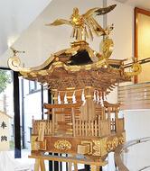 須賀川で6年ぶり神輿渡御