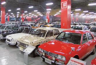 人気スポット・日産の記念車庫