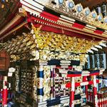 修繕された旧宮神輿