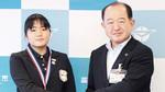 「うれしい報告をありがとう」と遠藤三紀夫市長