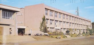 1975年当時の校舎(75年度卒業アルバムより)