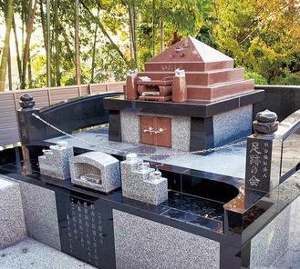合祀墓地いにしえ=提供写真