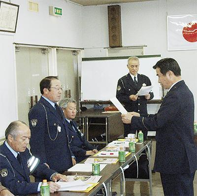 交通安全推進委員を委嘱