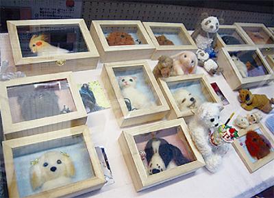 羊毛で作る人形展