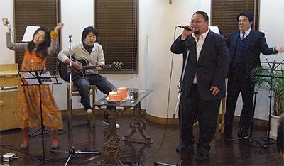 ZAMA道'が初ライブ
