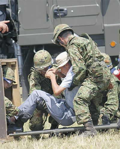 在日米陸軍と初の連携