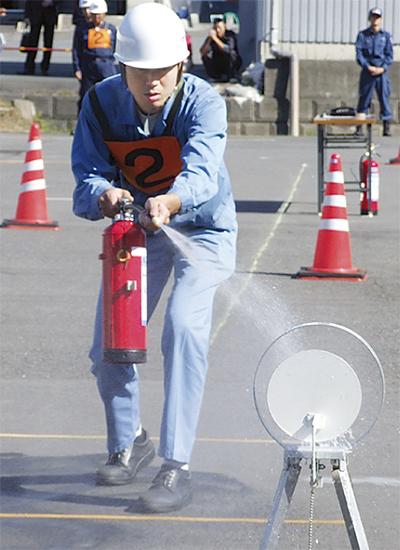 火災拡大を防ぐ