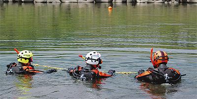 夏の水難事故に備える