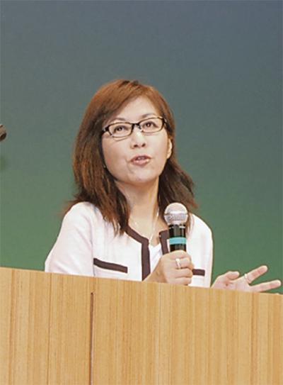 香山リカさんが講演