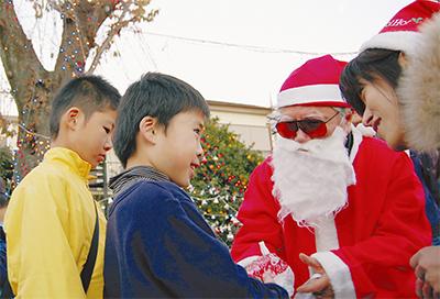 アイデア溢れるクリスマス会