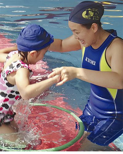 水泳楽しむ第1歩