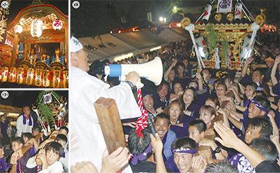 鈴鹿明神社で例大祭