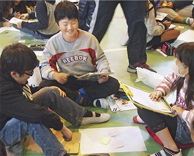 初の小学校開催