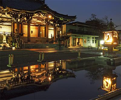 宗仲寺に月影の泉