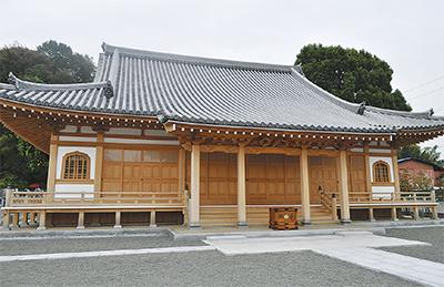 新本堂の完成祝い落慶式