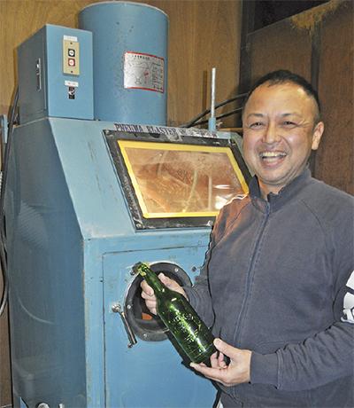 人気ビールの30周年に華
