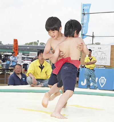 伝統のわんぱく相撲、今年も