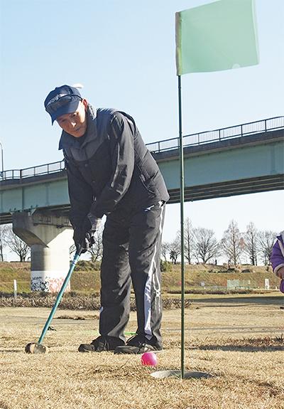 パークゴルフに挑戦