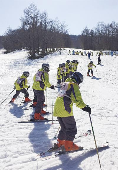スキーで深める交流