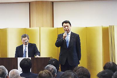 長本享一氏が新会長に