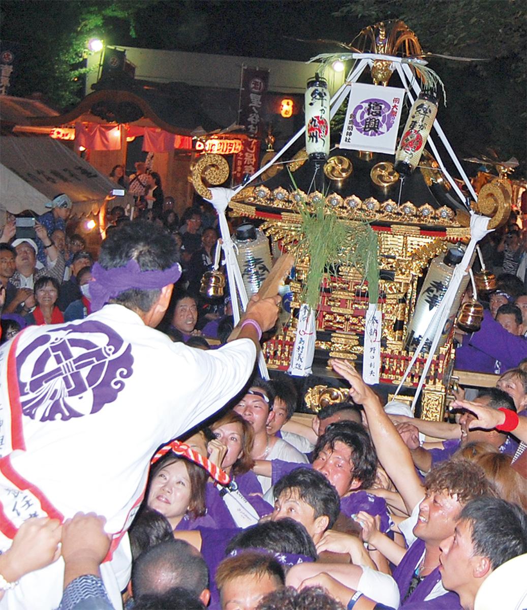 平成最後の神輿渡御