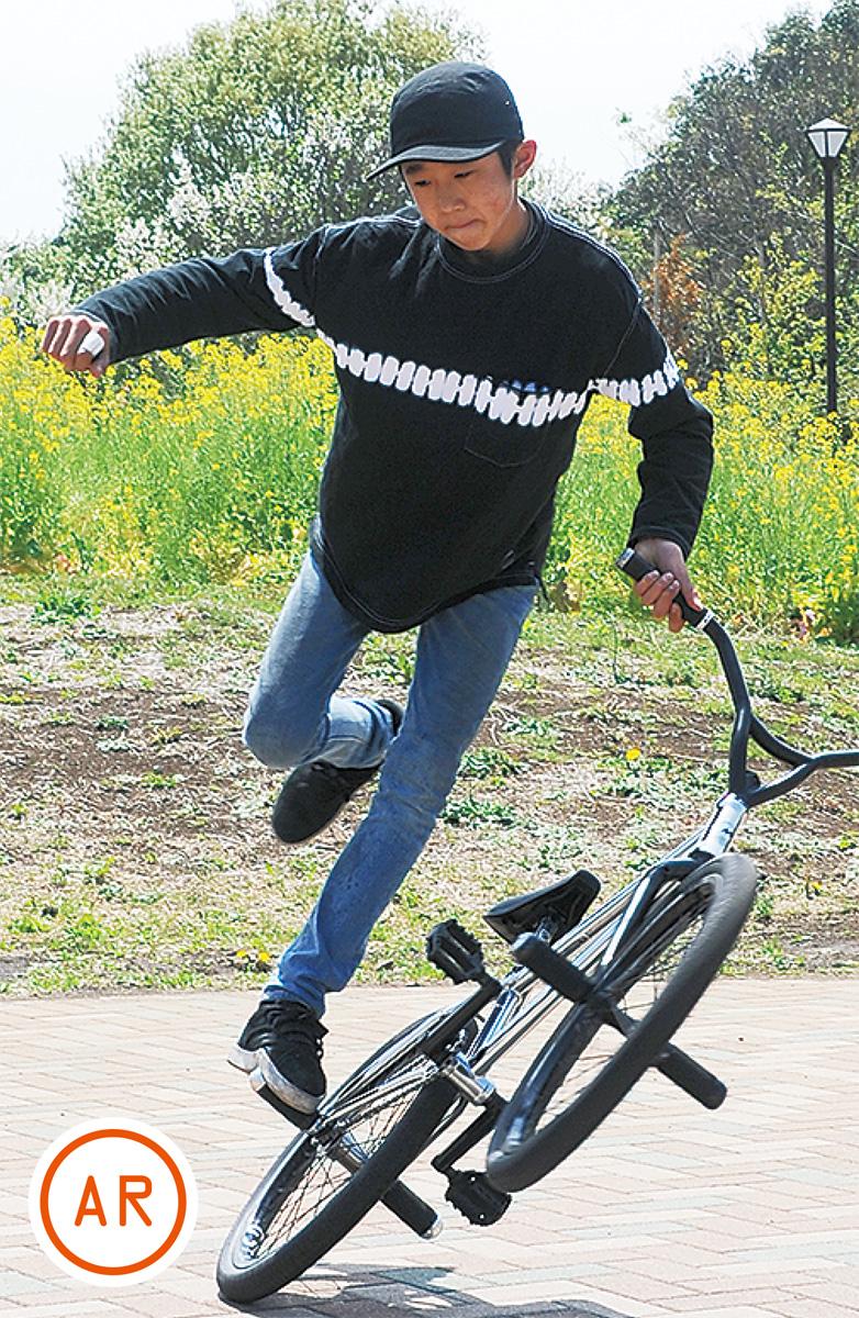 BMX世界大会に挑戦