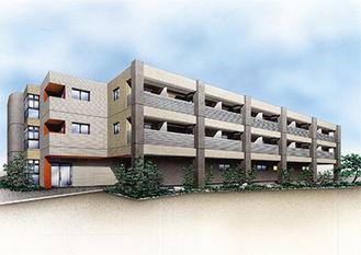 敷地面積1000平方メートル以上の開放感溢れる高齢者ホーム
