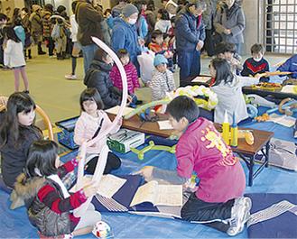 アートバルーン教室も開催