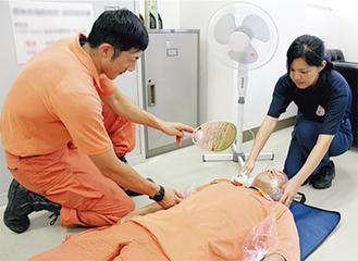 熱中症の応急手当法