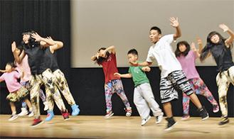 子どもたちのダンス