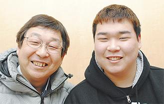 草間君とお父さん