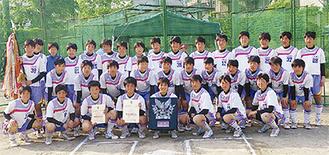 県予選優勝校として関東大会に臨む
