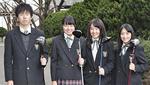 ゴルフ部の4人