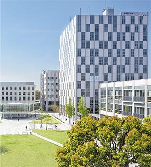 大学全体で環境保全に取り組んでいる(写真は大学提供)