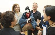 人形芝居を紹介