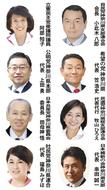 8党県代表が年頭談話
