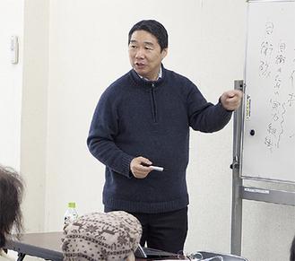 前文部科学事務次官の前川喜平さんも同会のボランティアスタッフとして生徒の学びを支えている。2月8日には「憲法について」の特別授業も行われた