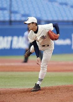 井上広輝君(日大三高)180cm74kg右投げ右打ち/投手