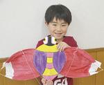 玉川公民館ではせんみ凧作り教室も行われた