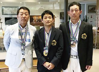 右から長田さん、田代さん、田中さん