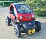 市に電気自動車を貸与